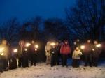 Fackelwanderung im Tal der Kelten die Kompakte 20.01.2013