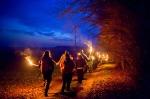 Wintersonnenwende Im Tal der Kelten mit adventlicher Fackelwanderung am 20.12.2015
